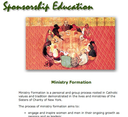 Ministry Resources – Srs. of Charity New York