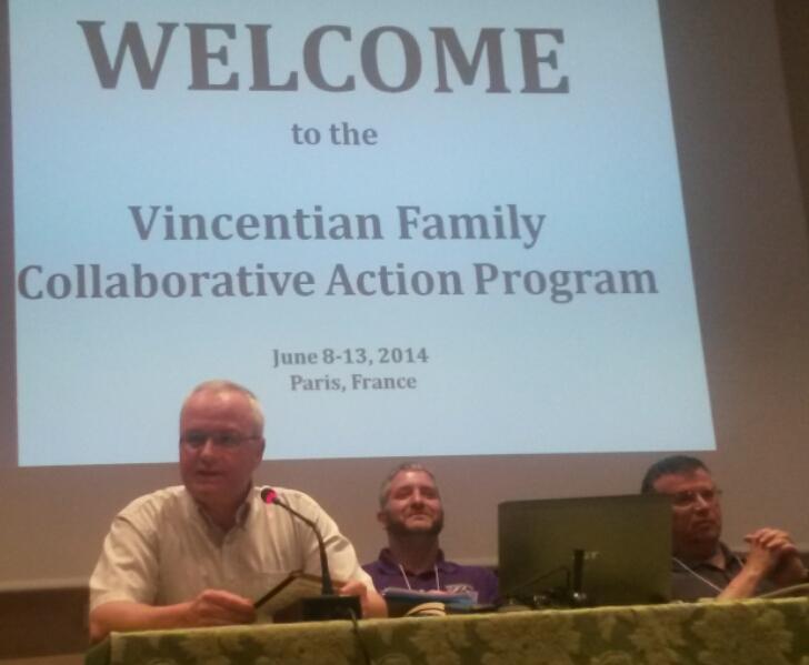 Pentecost in Paris – Vincentian Family