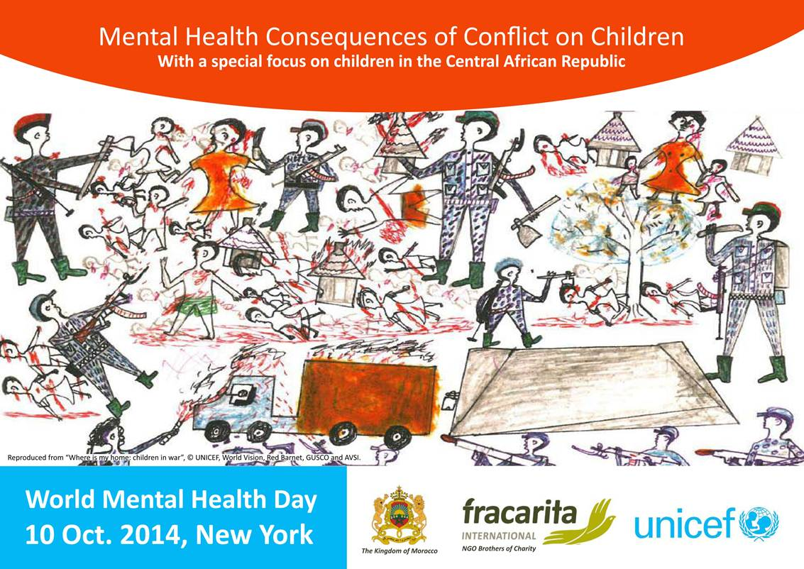 "Vincentian Family and ""Mental Health Consequences of Conflict on Children"""