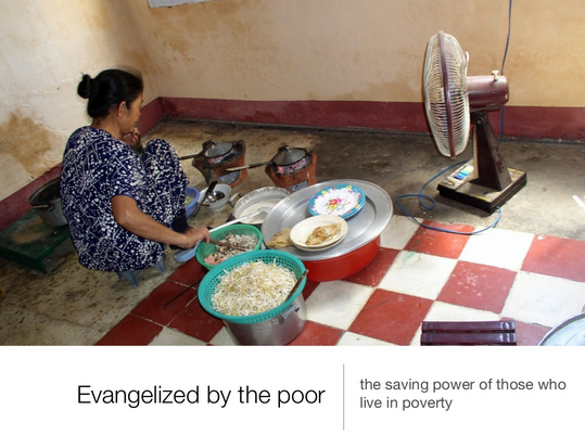 Evangelized By the Poor: The Salvific Power of Those Living in Poverty