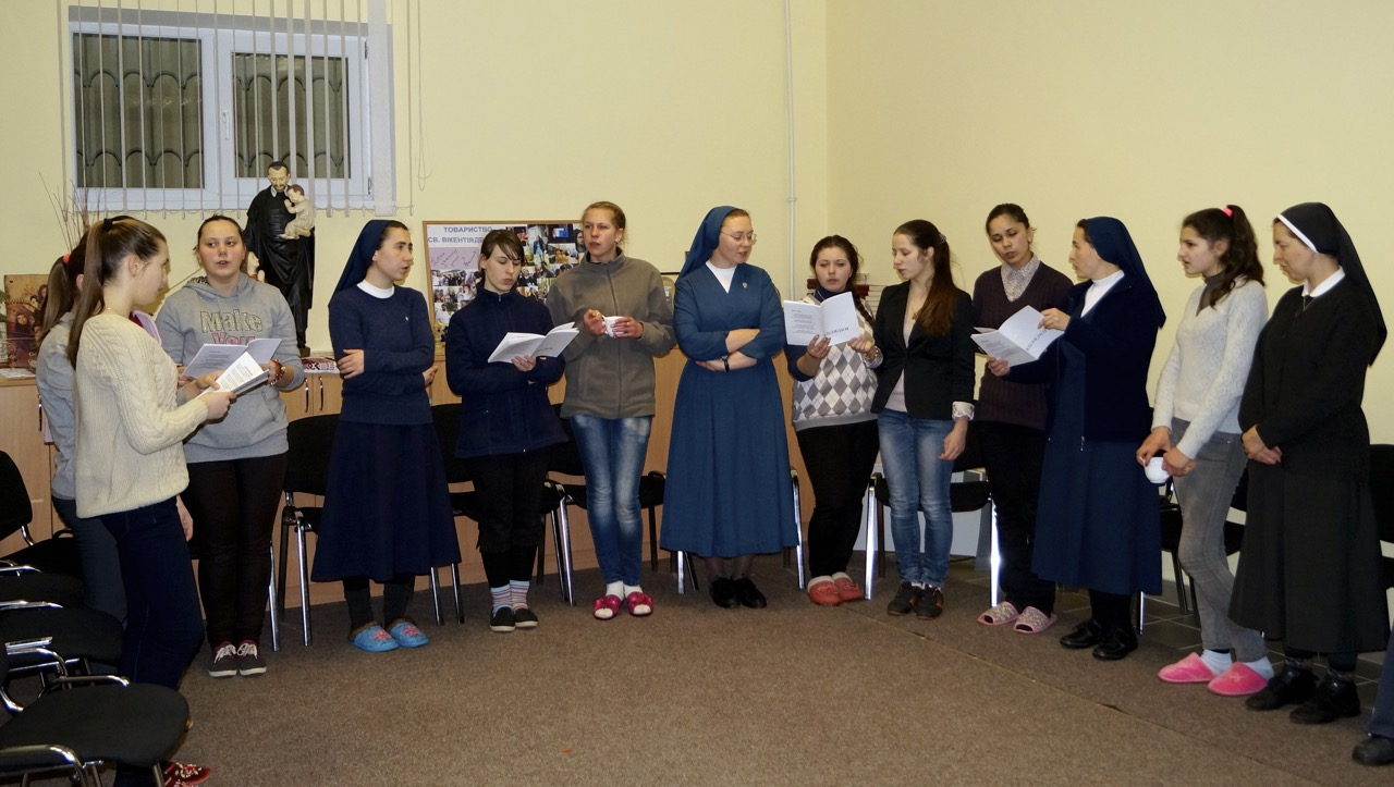Ukraine – Vincentian Family is alive and well