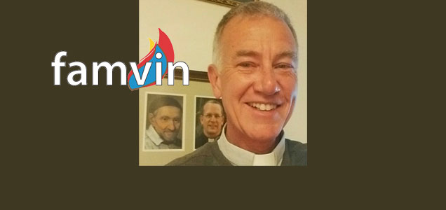 A new face for FamVin! Fr. Aidan Rooney