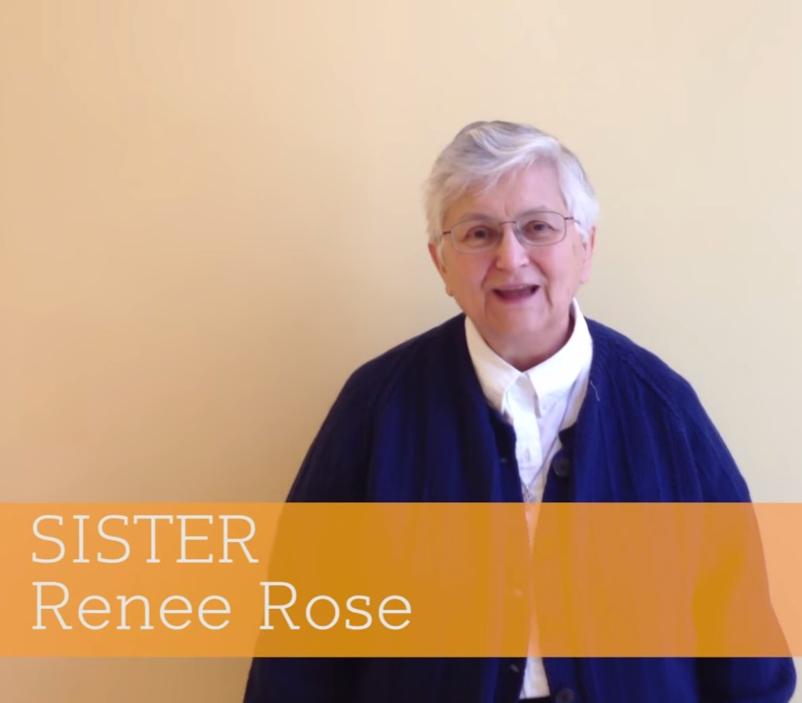 60 Seconds with Sister Renée Rose