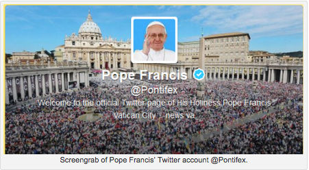 """The Pope's """"take-aways"""" in his 61 one-line tweets"""