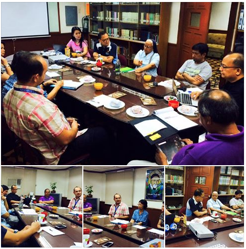 Even typhoons can not stop Vincentian Family meeting!