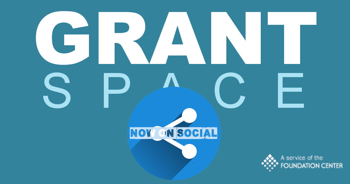 Now on Social: The GrantSpace Blog