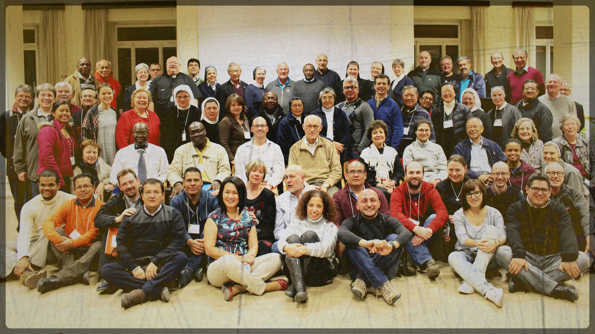 Vincentian Family Leaders in Rome