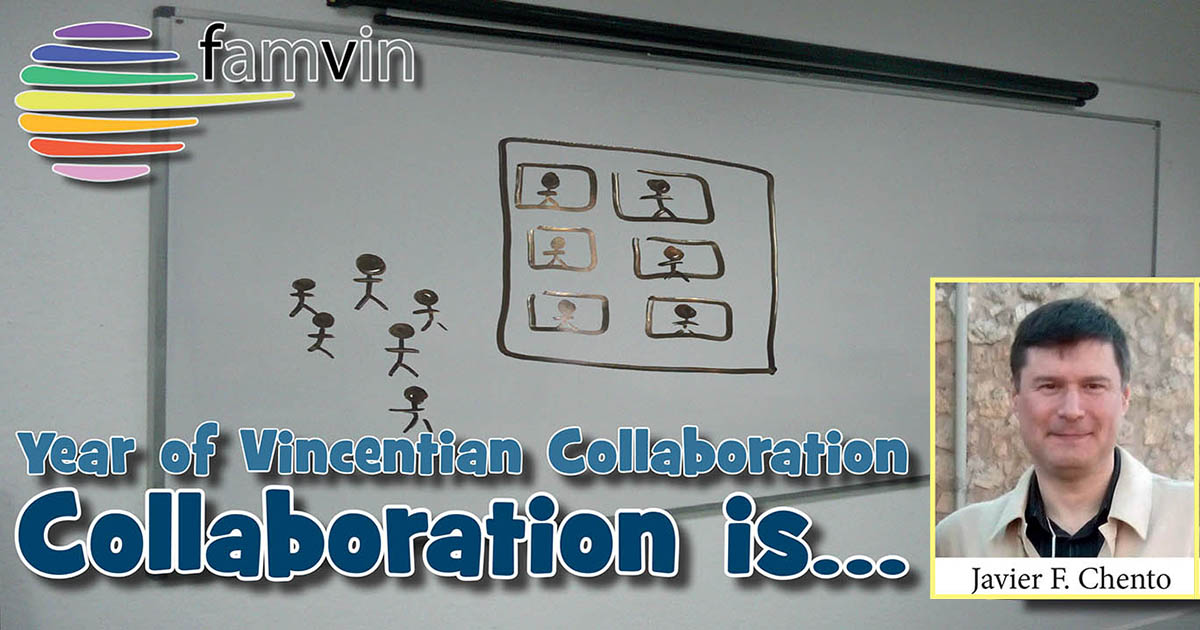 Collaboration is… to pray together