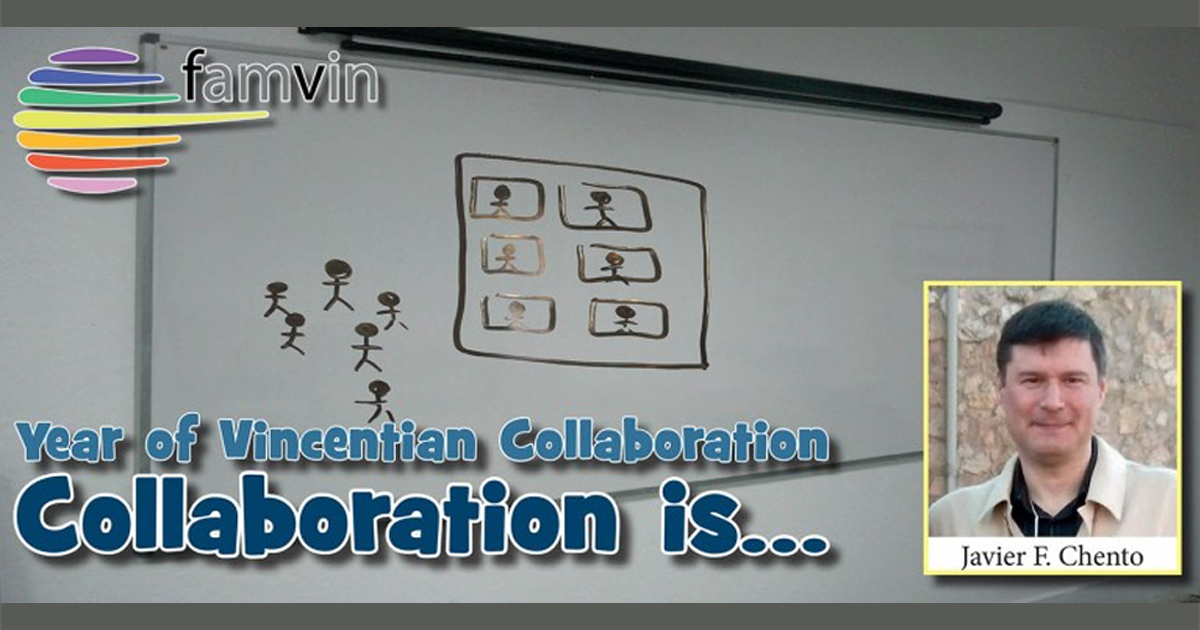 Collaboration is… taking up as my own common challenges