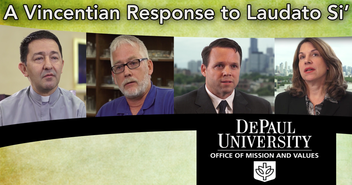 A Vincentian Response to Laudato Si'