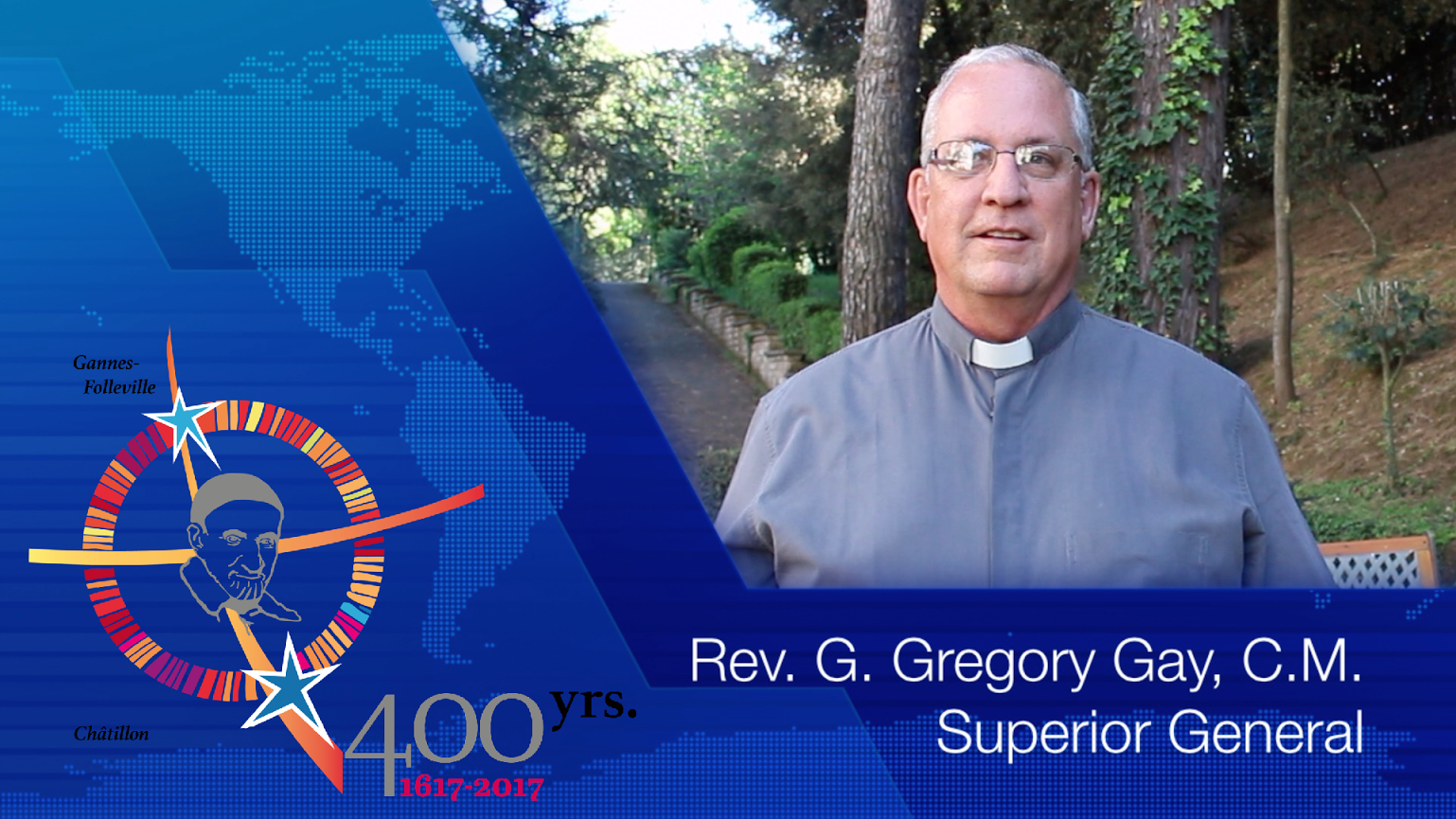 Fr. Gregory Gay, C.M.: Message for Pentecost and #famvin400