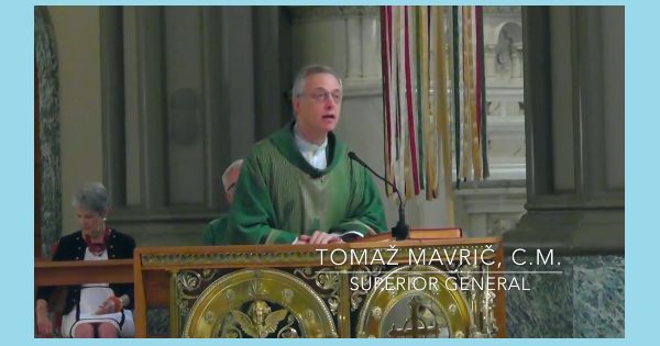 Homily of Fr. Mavrič at the Vincentian Family Mass