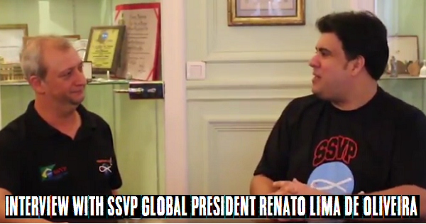 Interview With SSVP Global President Renato Lima de Oliveira