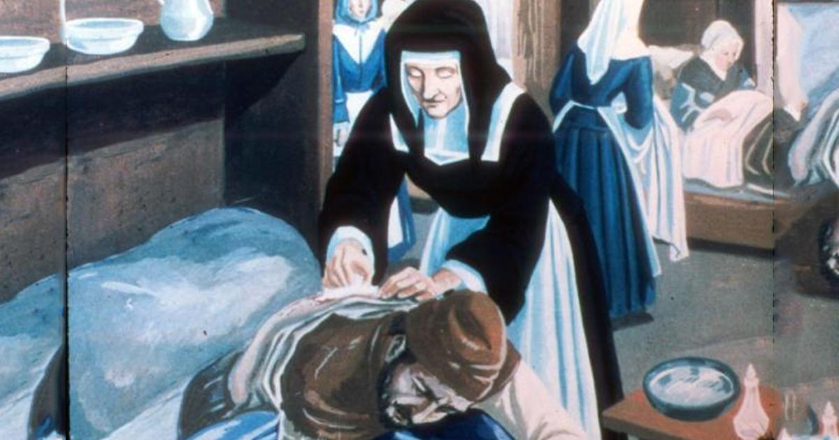 St. Louise de Marillac As Healer