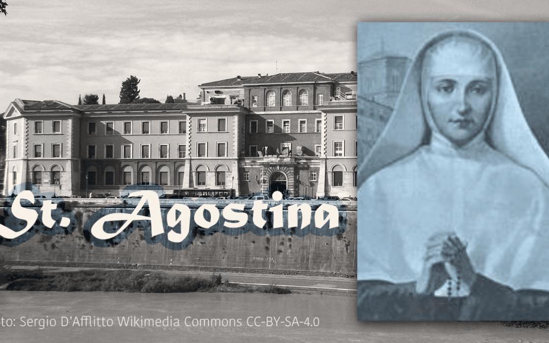 Feast Day of St. Agostina Pietrantoni