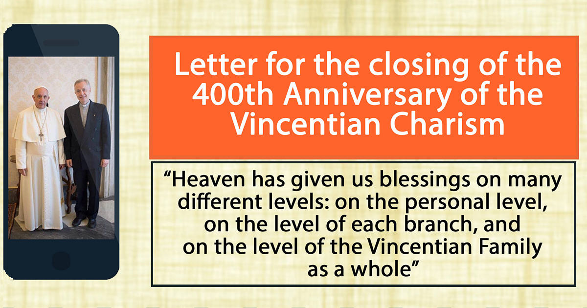 Infographic Based on the Letter of Father Tomaž Mavrič, C.M. at the Closing of the 400th Anniversary