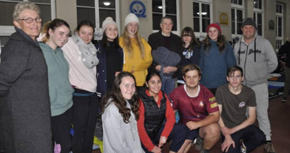 Goulburn Helps Vinnies Winter Sleep-Out (Australia)