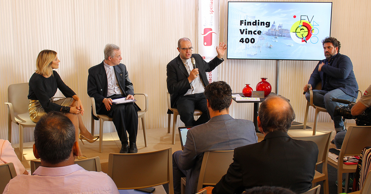 """Finding Vince 400"" – Press Conference at International Film Festival in Venice"