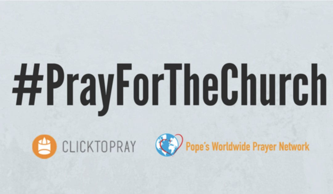 Prayer Request of the Pope – Special October Campaign #PrayForTheChurch