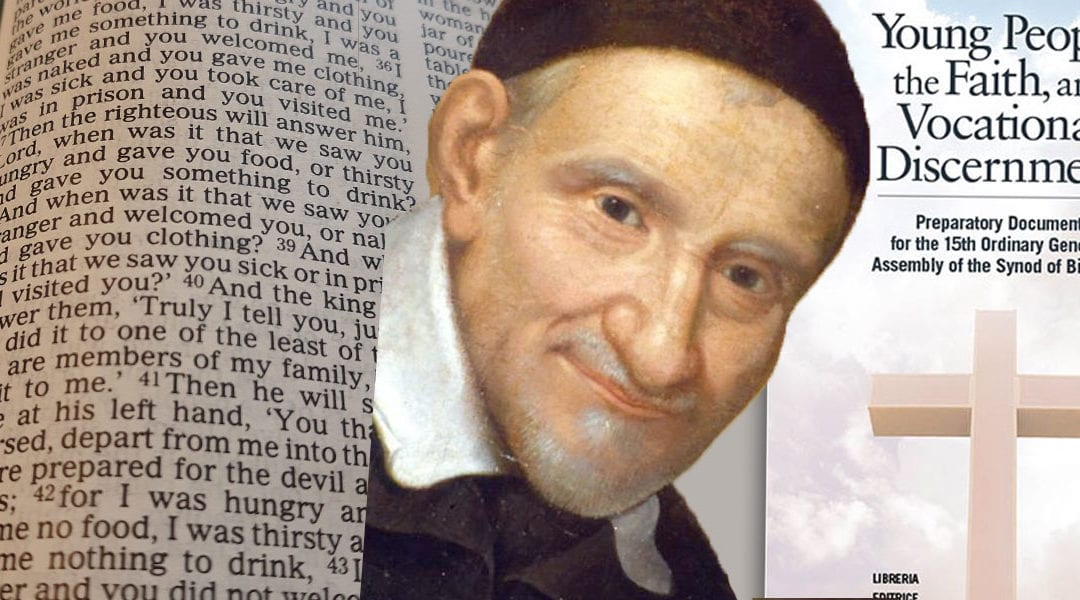 Is there a Vincentian Influence on the Youth Synod?