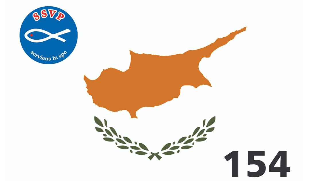 SSVP in Expansion: Cyprus is the 154th Territory that is Joined into our Great Charity Network