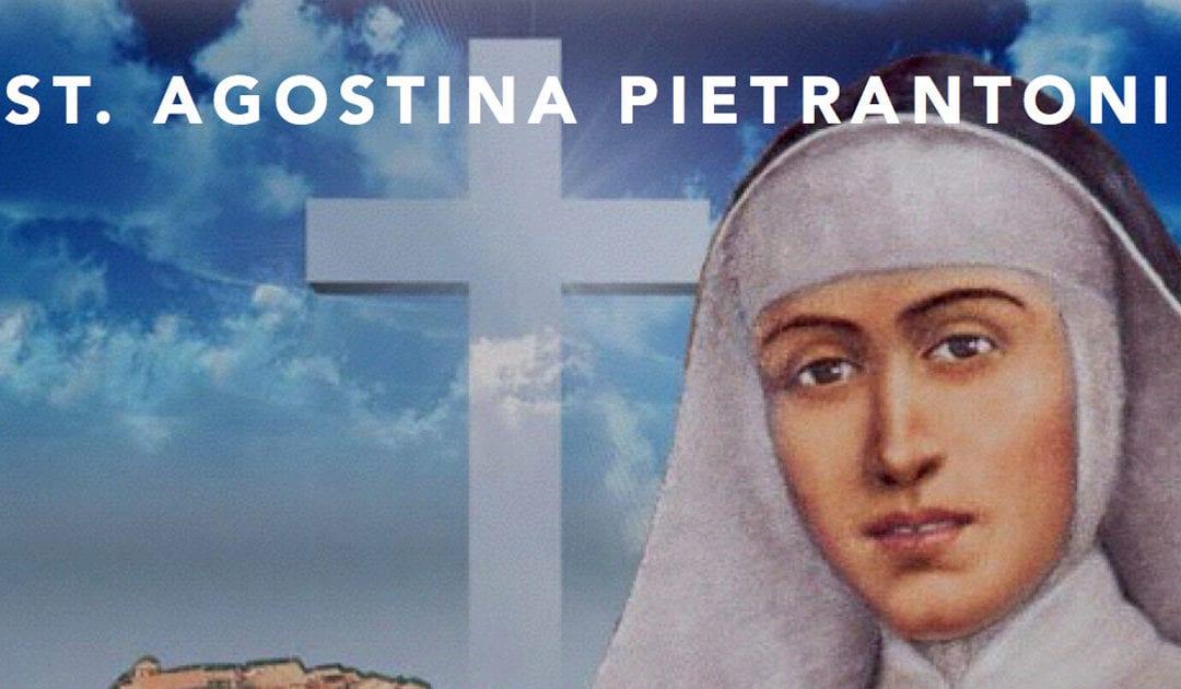Feast of St. Agostina Pietrantoni