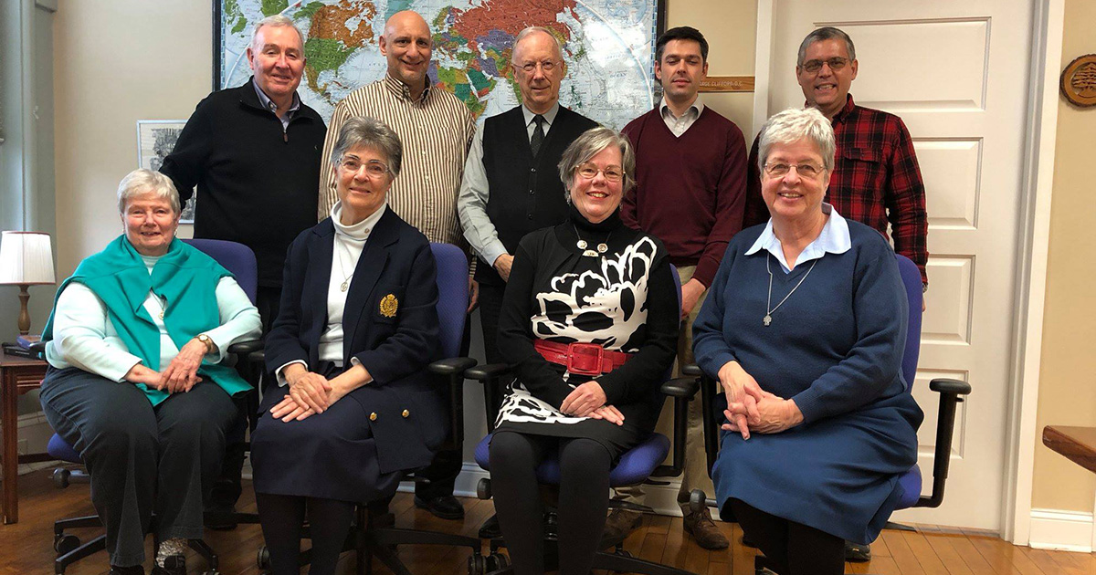 Meeting of the New Vincentian Family Task Force on the Transmission of the Charism