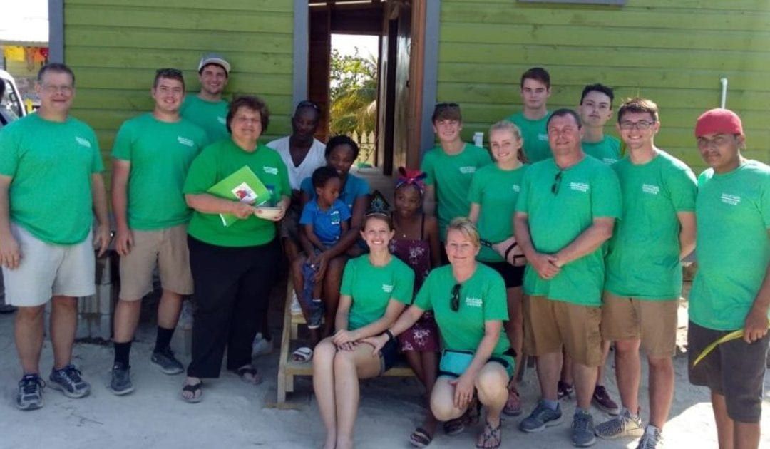 Volunteers Build a Home in Belize