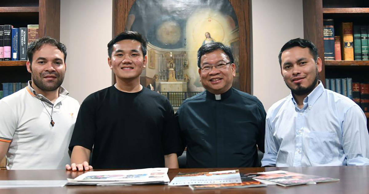 Vincentian Seminarians Walk in the Footsteps of St. Vincent de Paul