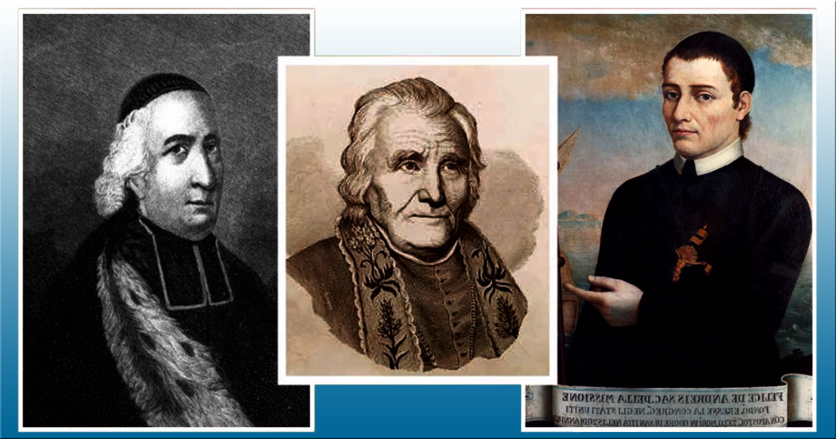 July 26: Felix de Andreis, C.M., Joseph Rosati, C.M., and Companions Arrive in Baltimore