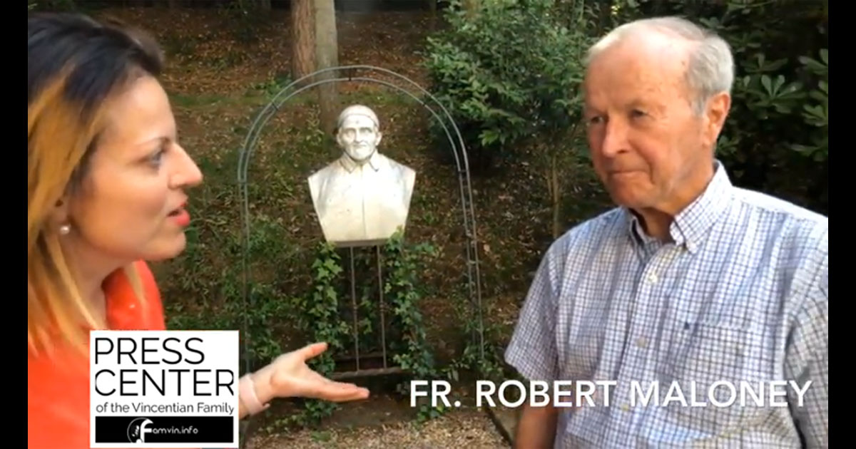 "Interview with Fr. Robert Maloney, C.M. on his book ""Mystic of Charity"""