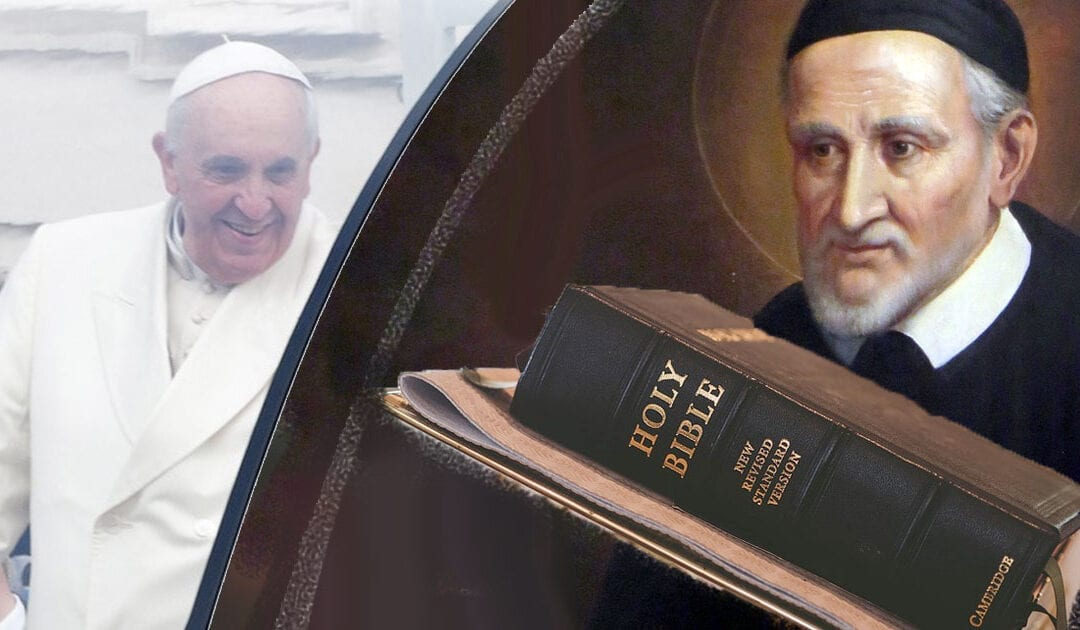 "Flash! Pope Francis says the Bible is a ""dangerous book"""