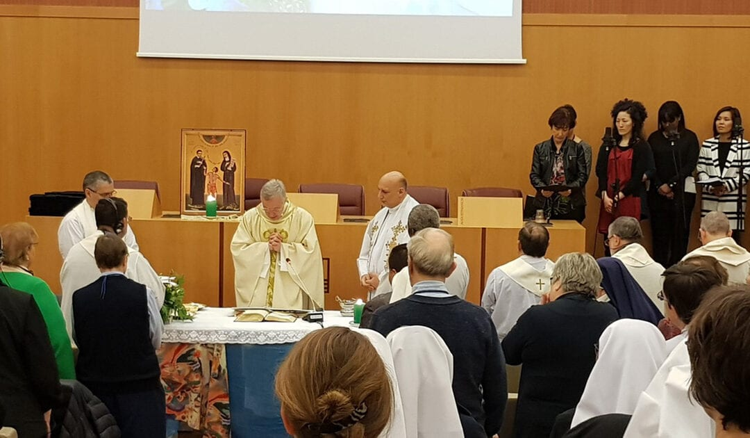 Meeting of the Leaders of the Vincentian Family, Rome 2020: January 12 #FamVin2020Roma