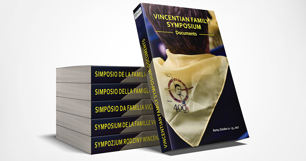 Publication of the Book on the Symposium of the Vincentian Family