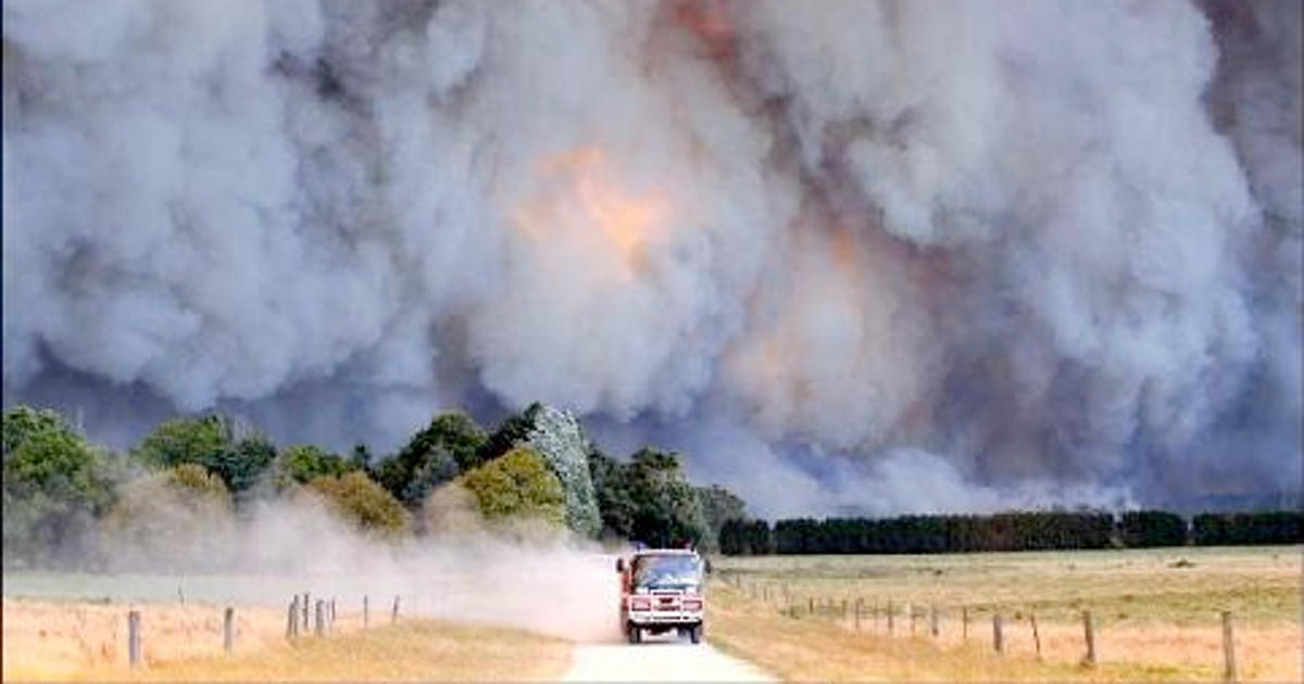 Australian Bushfire. The Dreadful Face of the Climate Change.