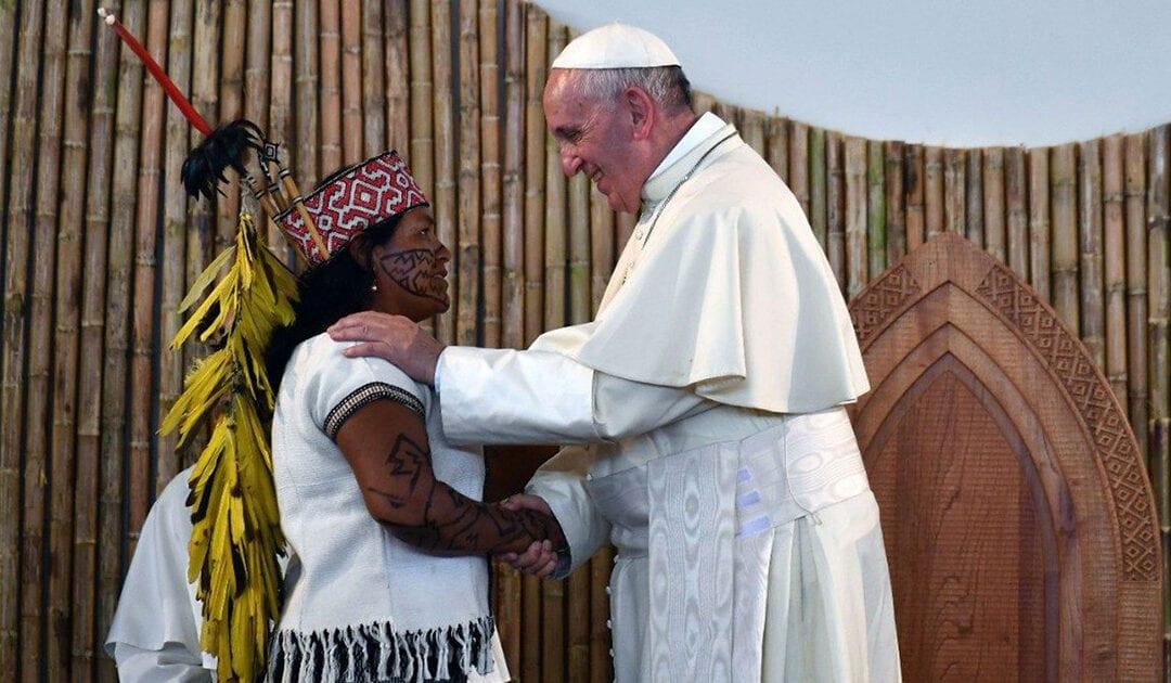 """Pope Francis Publishes Apostolic Exhortation:  """"Beloved Amazon"""""""