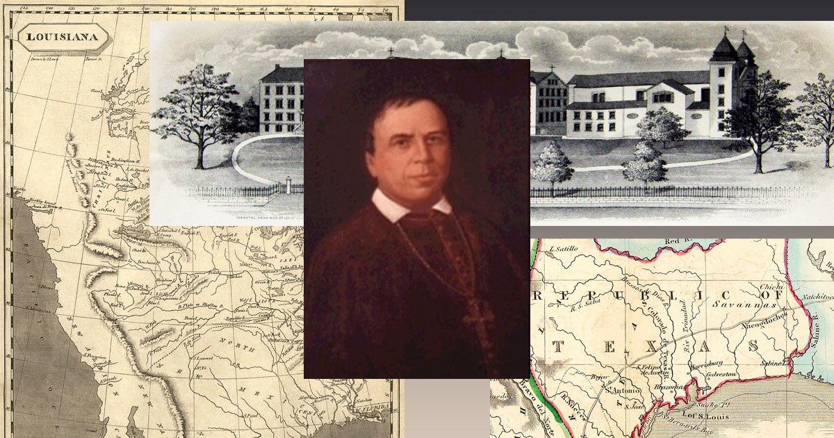 Jean-Marie Odin, C.M.: Vincentian Missionary on the American Frontier