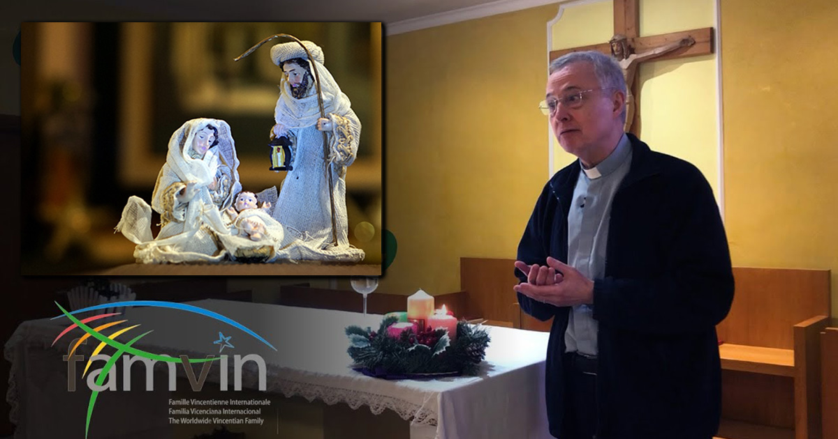 2020 Christmas Message of Father Tomaž Mavrič, C.M., the President of the Vincentian Family Executive Committee