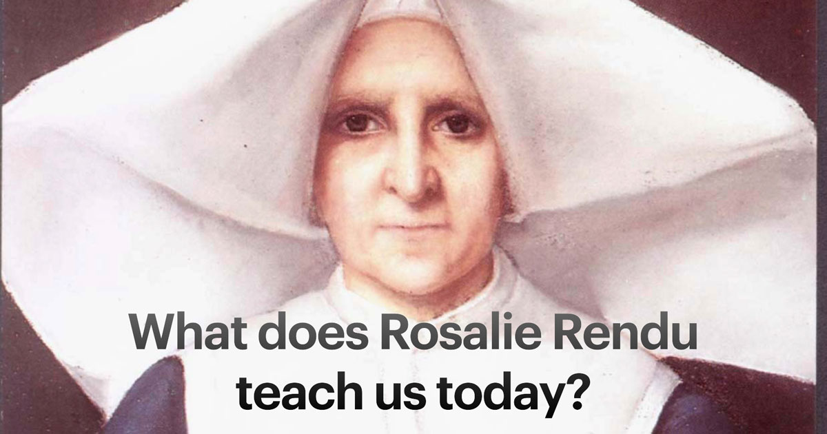 What does Blessed Rosalie Rendu teach us today?