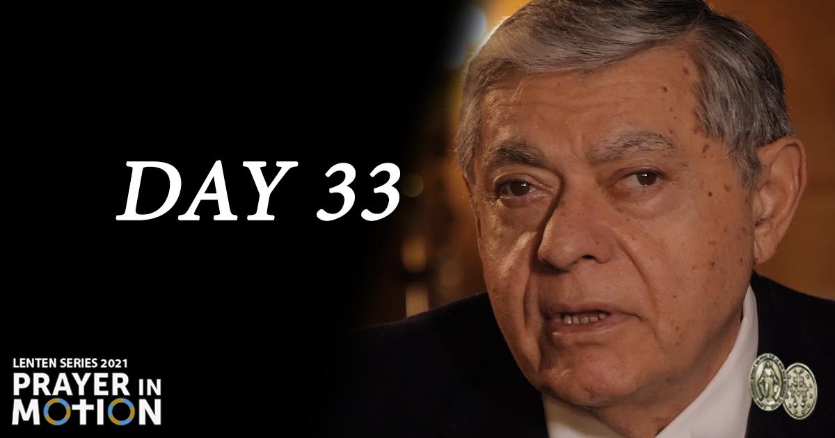 Lenten Video Series: Day 33, Give Us Grace