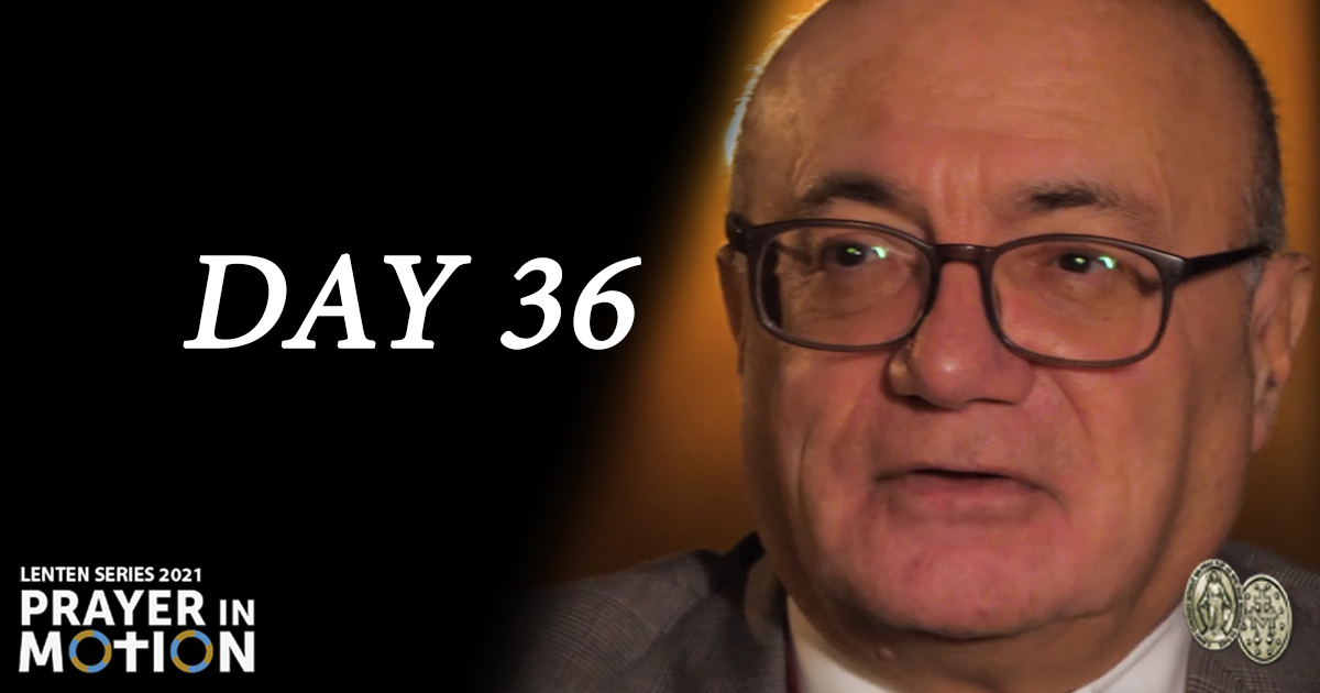 Lenten Video Series: Day 36, In Tune with God