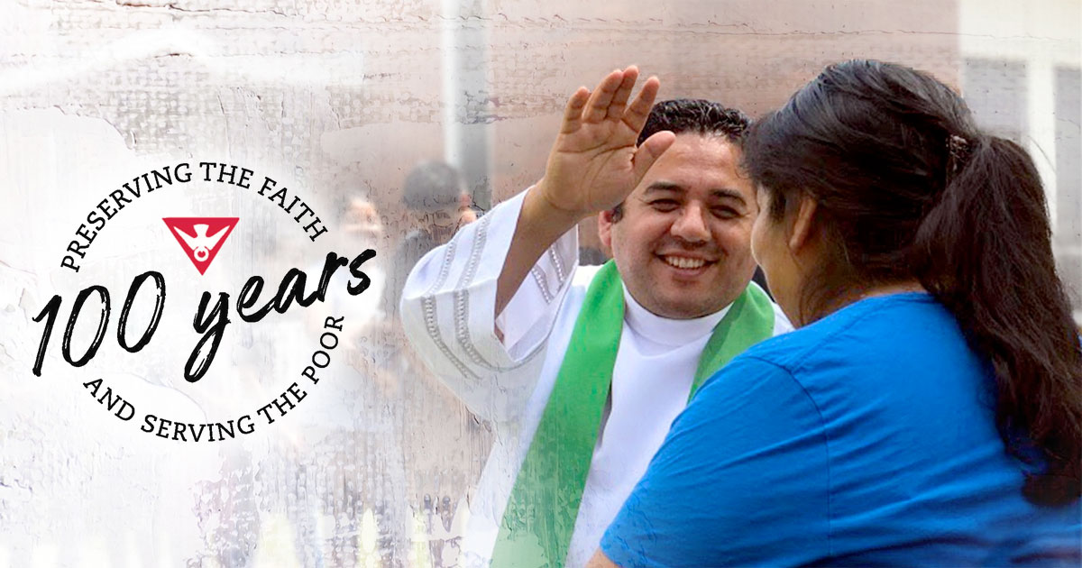 Trinity Missions Celebrating 100 Years