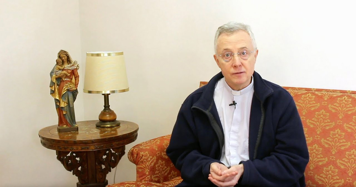 Fr. Tomaž Mavrič Easter Message
