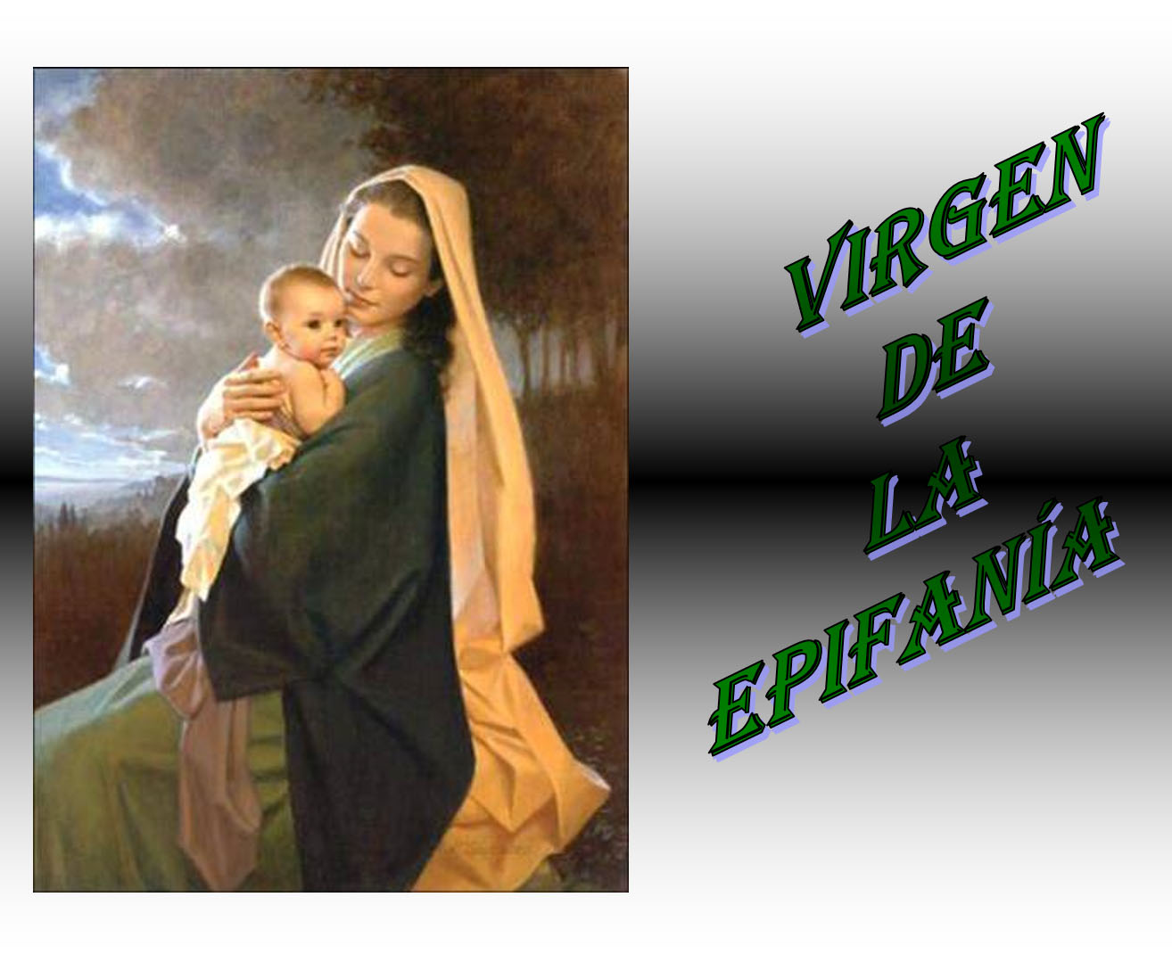 "Power Point  ""Virgen de la Epifanía"""