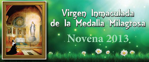 Novena a la Virgen Milagrosa 2013