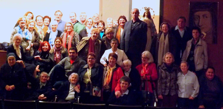 La unión y la colaboración de la Familia Vicenciana desde Teruel (España)