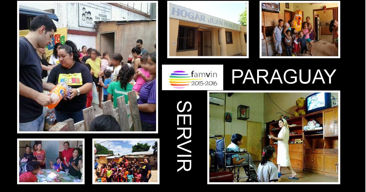 Servir: Hogar Juan Pablo II – Paraguay