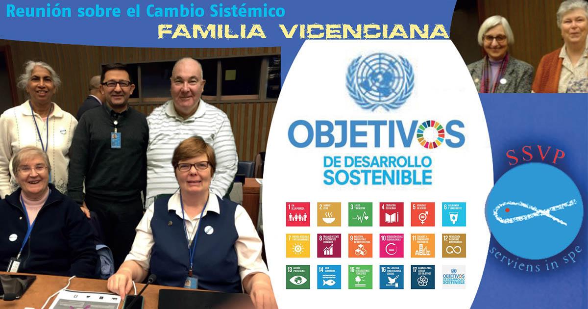 Reunión sobre el Cambio Sistémico entre representantes de las ONGs vicencianas en la ONU