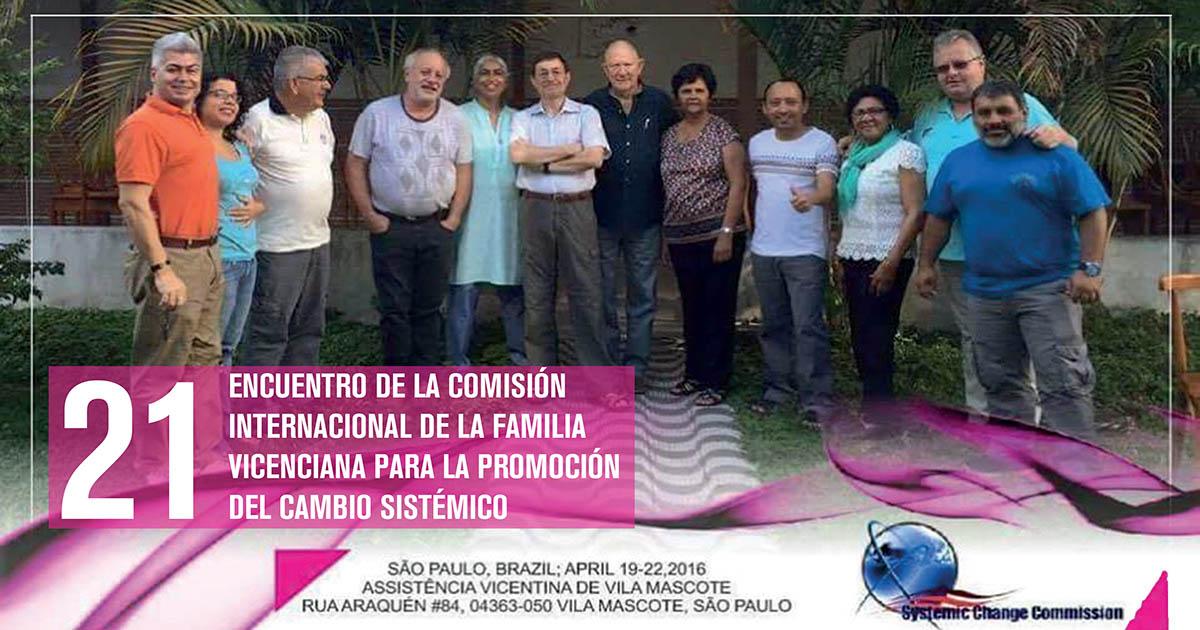 La Comisión Internacional de Familia Vicenciana para el Cambio Sistémico, en São Paulo (Brasil)