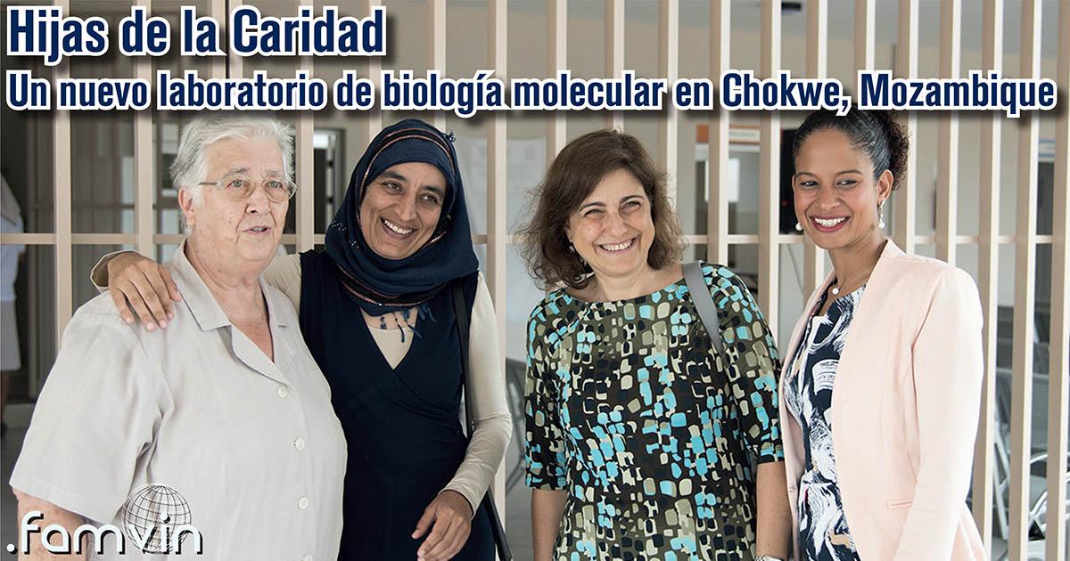 Un nuevo laboratorio de biología molecular en Chokwe, Mozambique